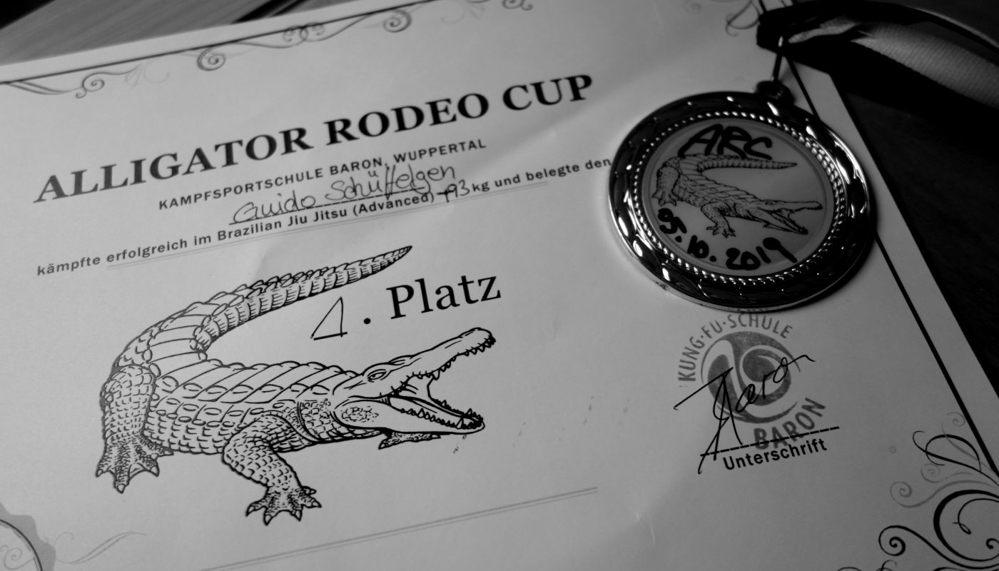 Alligator Rodeo Cup für Grappling und BJJ